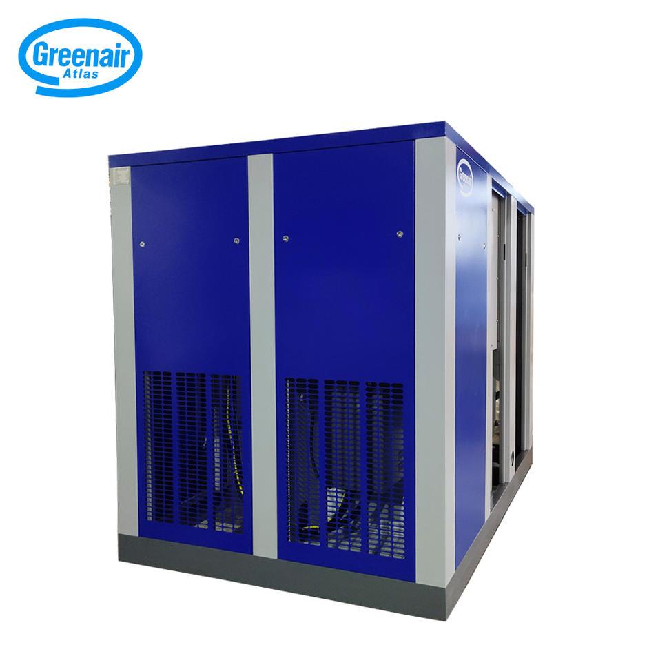 Greenair Atlas GA90 90kW 125HP High Efficiency Screw Type Air Compressor