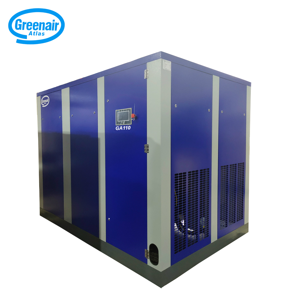Atlas Greenair Screw Air Compressor best fixed speed rotary screw air compressor for busniess for tropical area-2
