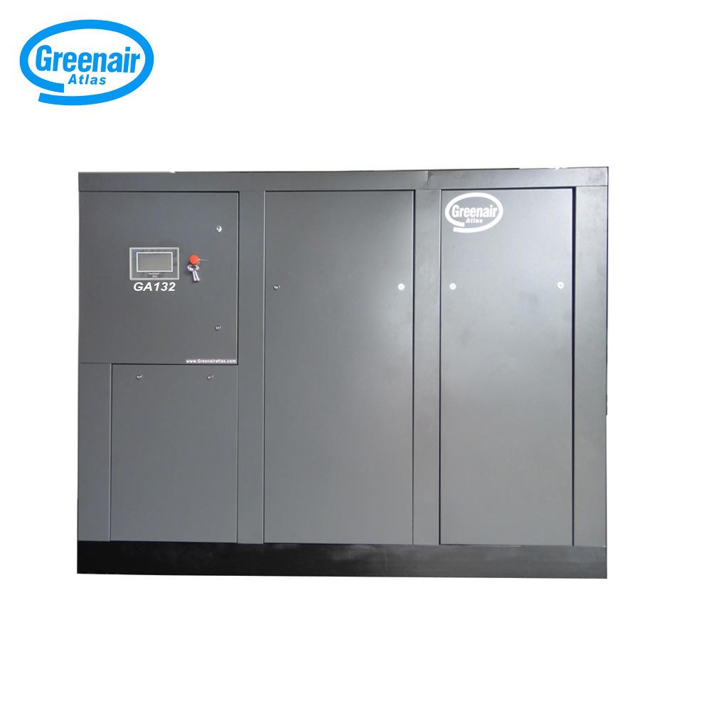Greenair Atlas GA132 132kW 175HP Energy Saving Screw Air Compressor