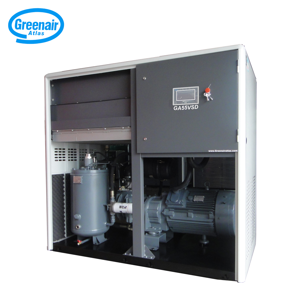 Atlas Greenair Screw Air Compressor cheap variable speed air compressor supplier customization-2