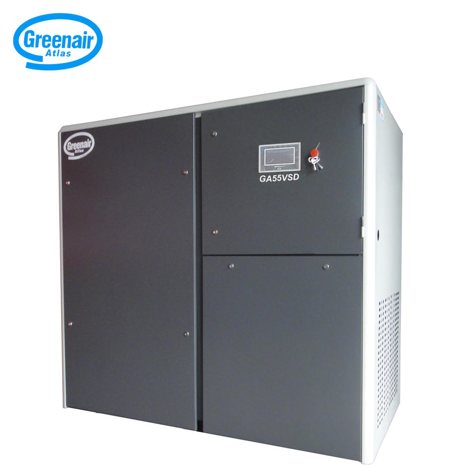 Top Quality GA55VSD 55KW 75HP Variable Speed Industrial Screw Air Compressor Factory