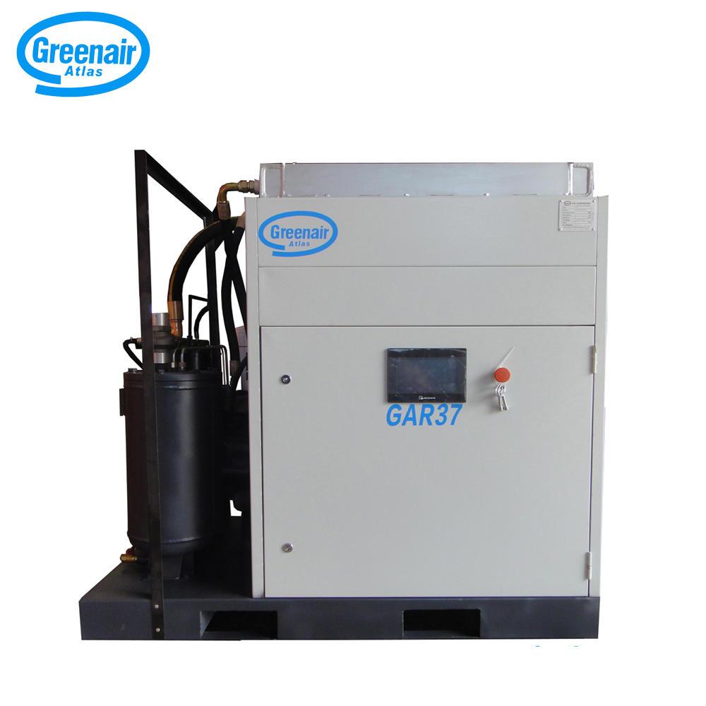 Greenair Atlas GAR37 Oil Less Screw Air Compressor For Locomotive