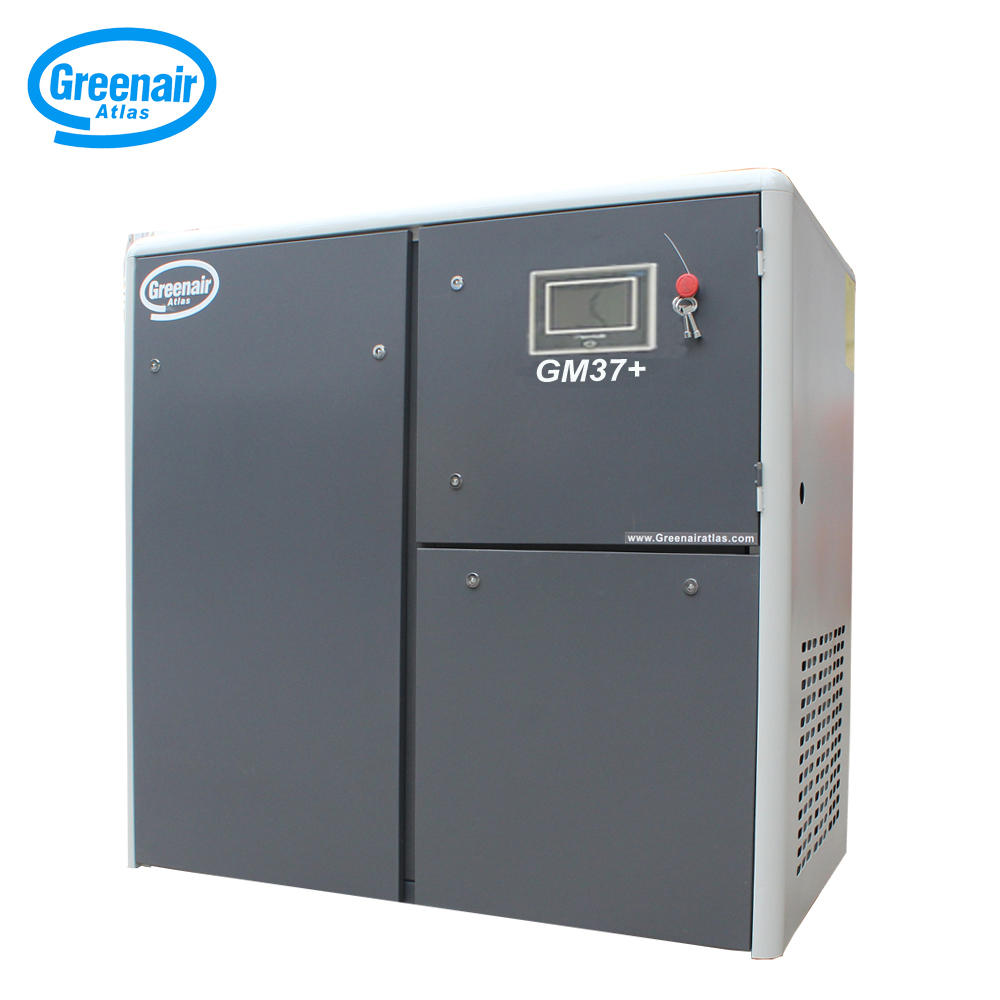Greenair Atlas GM37+ Two Stage Type Permanent Magnet Screw Air Compressor
