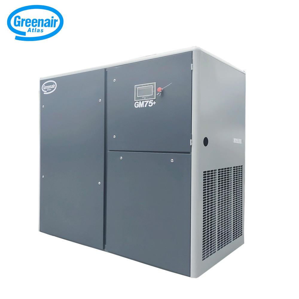 Greenair Atlas GM75+ PM Motor Varible Speed Screw Air Compressor