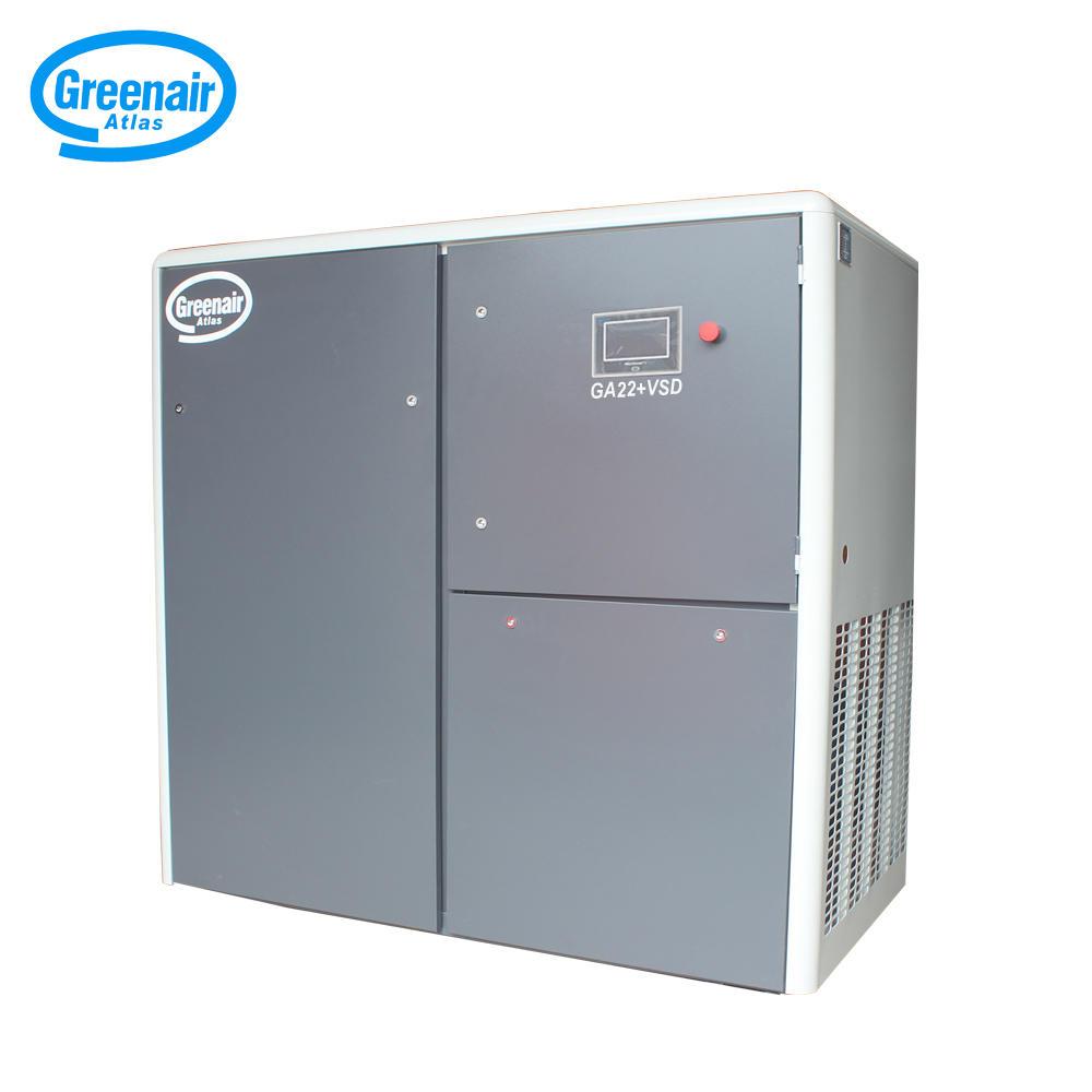 Greenair Atlas GA22+VSD Two Stage Energy Saving Variable Speed Screw Air Compressor