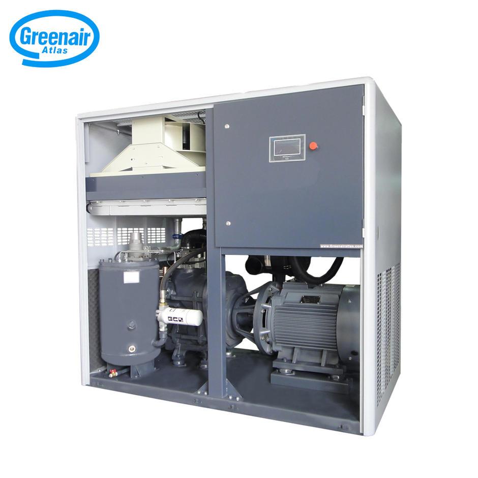 Greenair Atlas GA75+VSD Variable Speed Energy Saving Industrial Screw Air Compressor