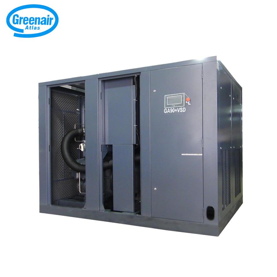Greenair Atlas GA90+VSD High Efficiency Variable Speed Screw Air Compressor