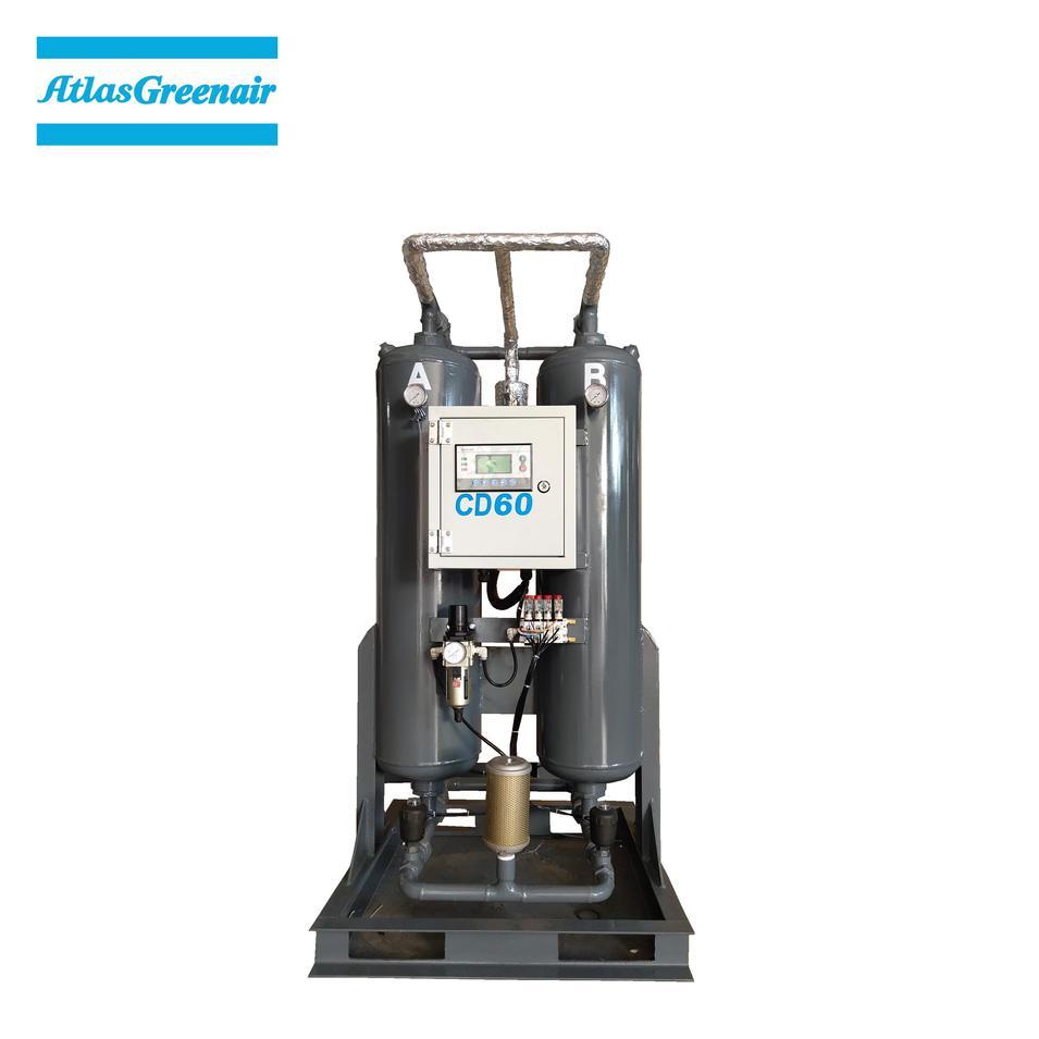 Greenair Atlas CD60 Adsorption Type Desiccant Air Dryer For Screw Air Compressor