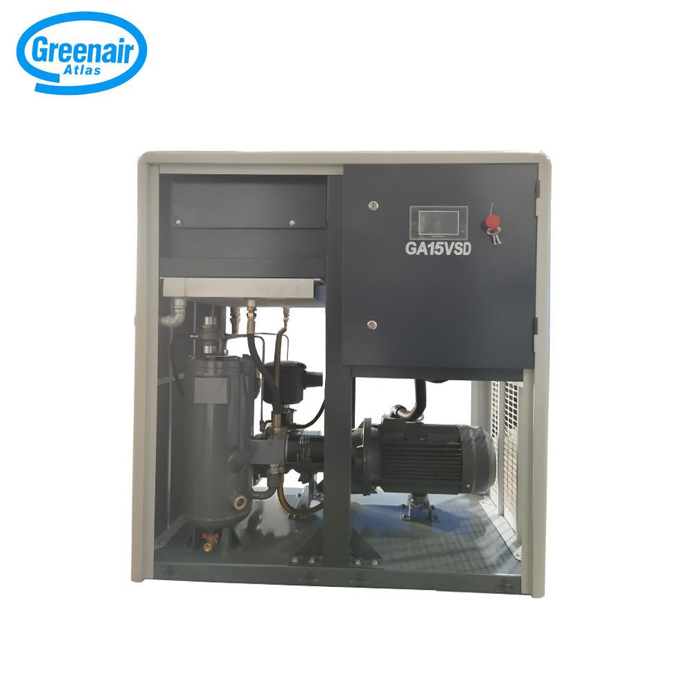 Greenair Atlas GA15VSD Direct Drive Oil Injected Screw Air Compressor