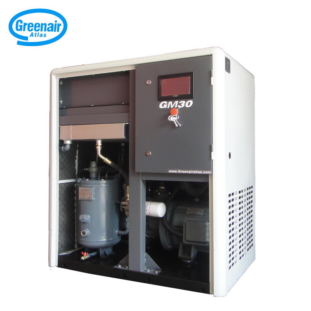 Greenair Atlas GM30 30KW 40HP PM Motor Variable Speed Screw Air Compressor
