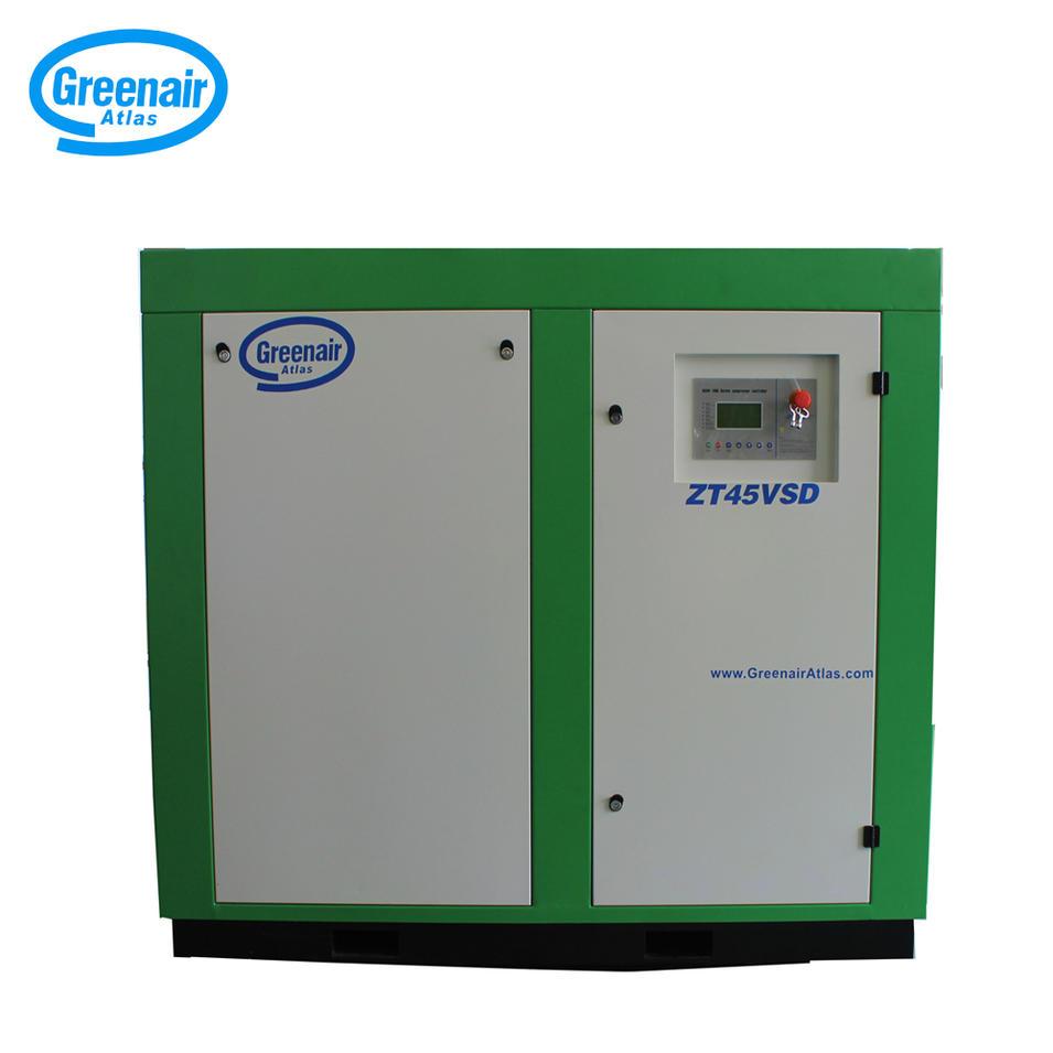 Greenair Atlas ZT45VSD 45kW Air Cooled Oil Free Screw Air Compressor