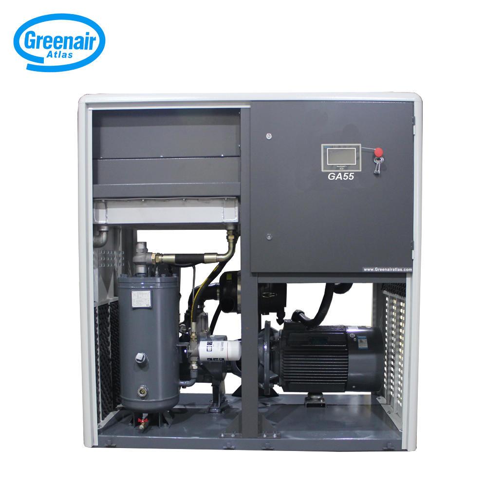 Greenair Atlas GA55 55kW Oil Injected Energy Saving Screw Type Air Compressor