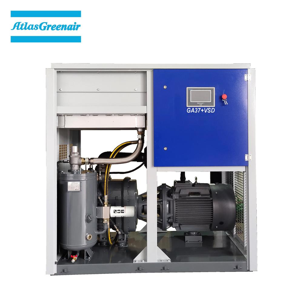 Greenair Atlas GA37+VSD Two Stage Type Cost Efficient Variable Speed Screw Air Compressor