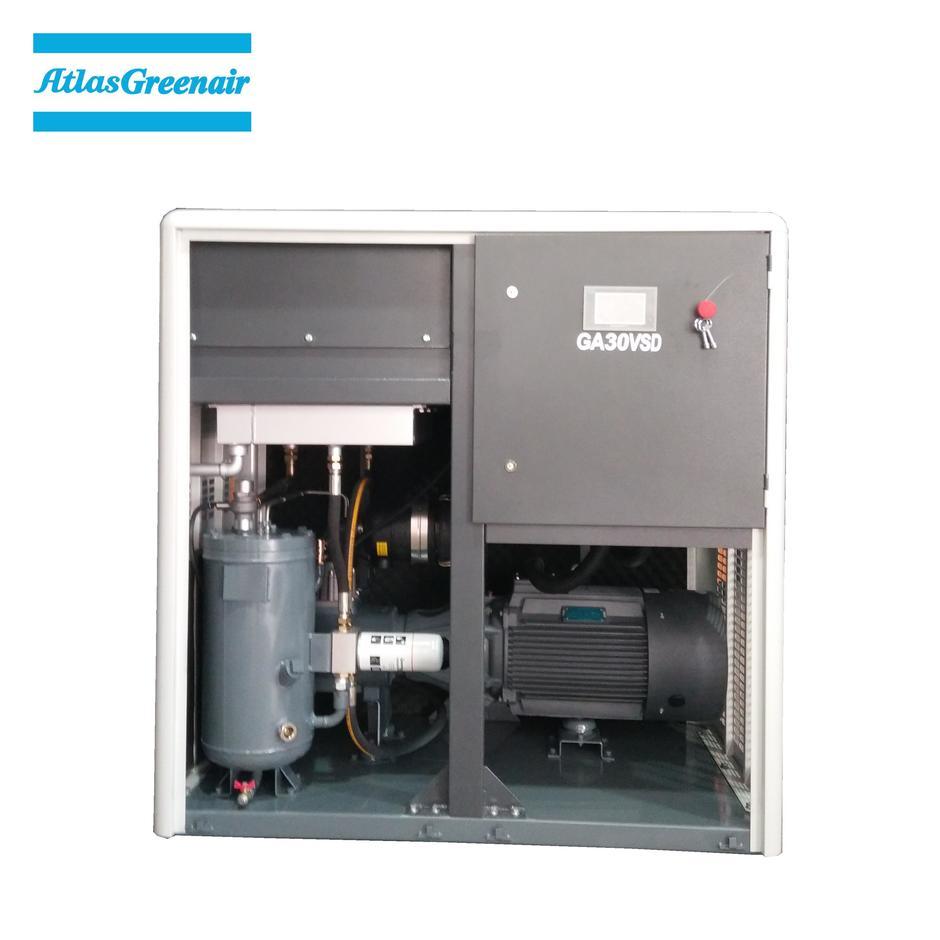 Greenair Atlas GA30VSD Oil Injected Direct Drive Screw Air Compressor