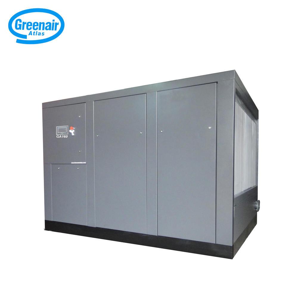 Greenair Atlas GA160 Industrial Oil Injected Screw Air Compressor