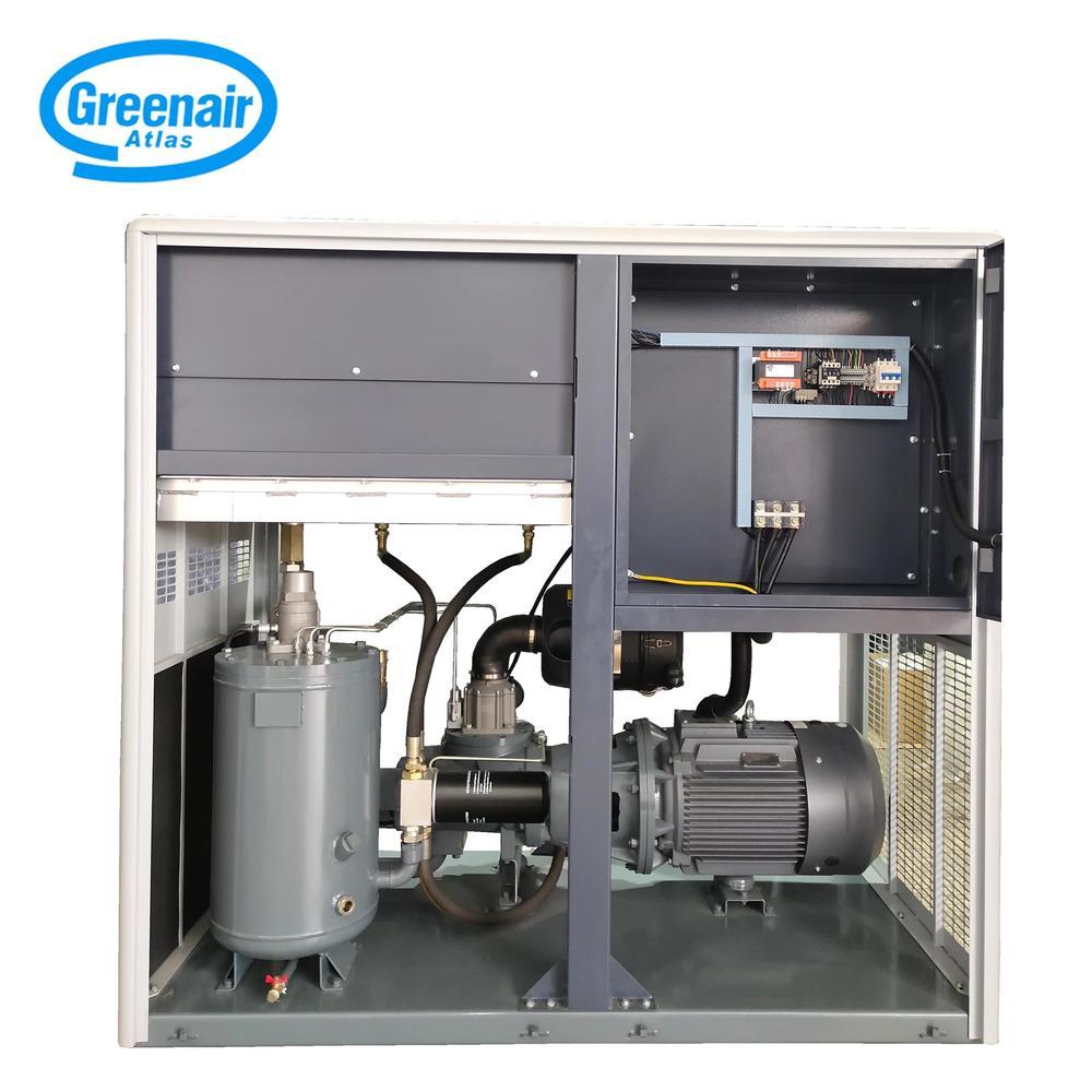 Greenair Atlas GM75 Permanent Magnet Motor Variable Speed Screw Air Compressor