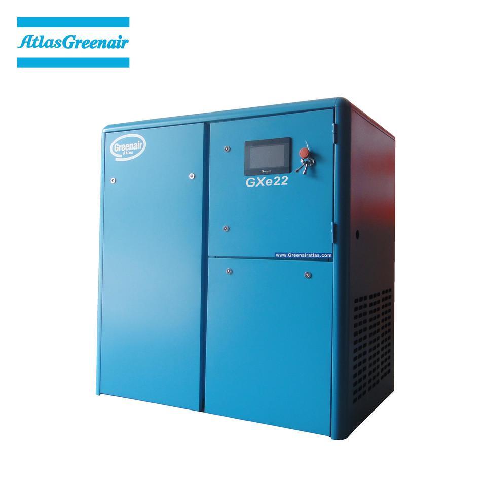 Greenair Atlas GXe22 Cost Efficient Oil Injected Screw Air Compressor