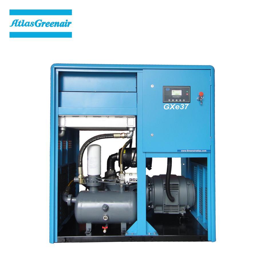 Greenair Atlas GXe37 Cost Efficient Industrial Screw Air Compressor