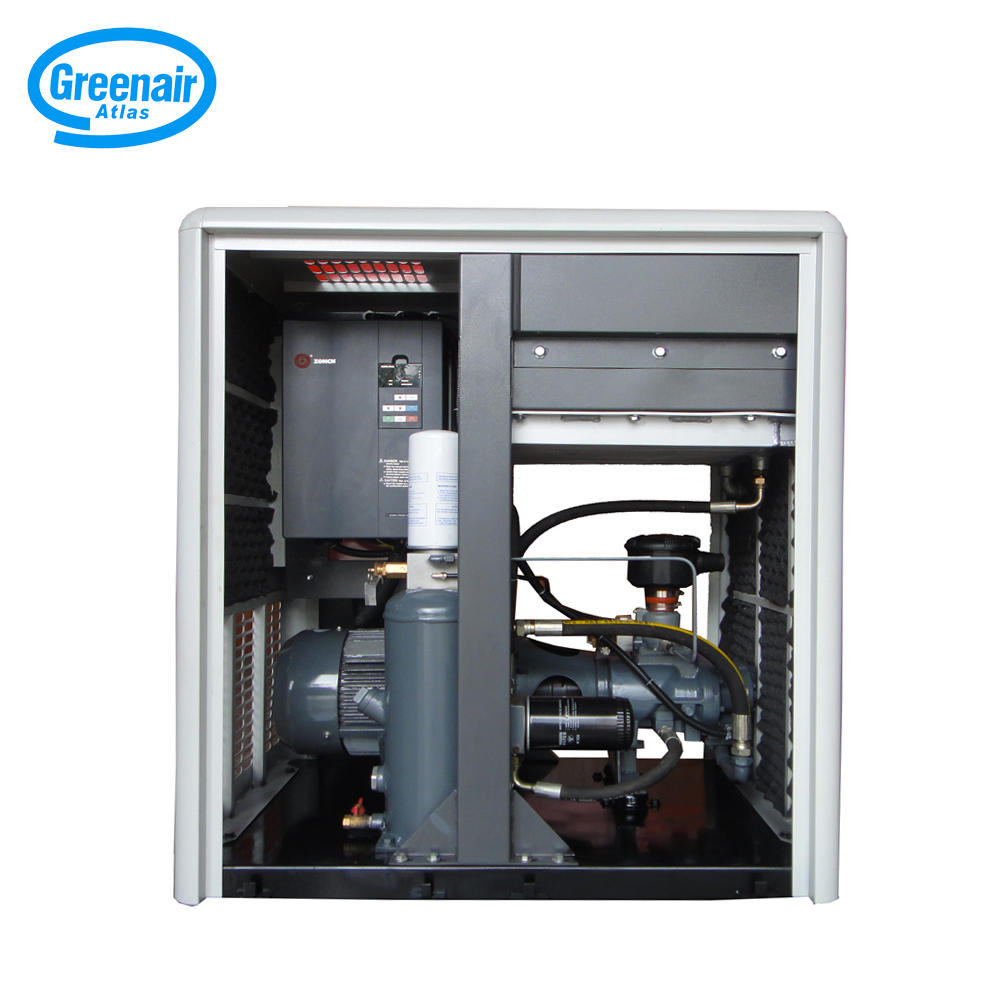 Greenair Atlas GA7VSD Variable Speed Oil Less Rotary Screw Air Compressor