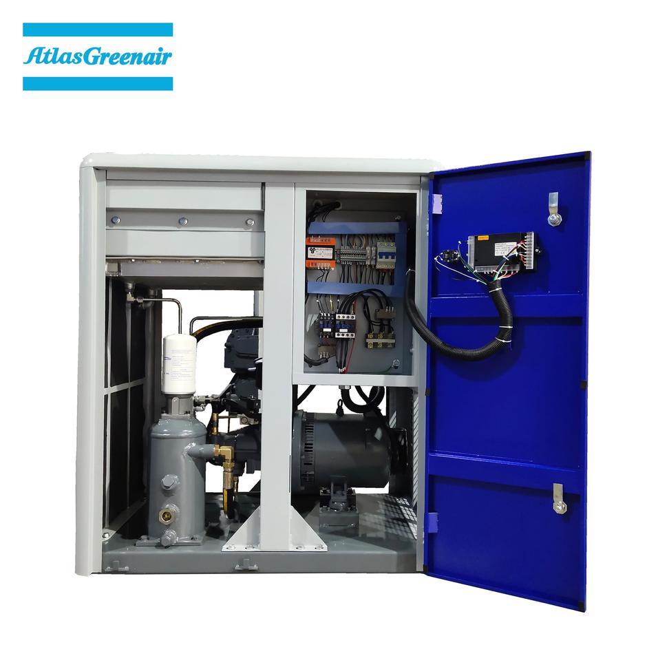 Greenair Atlas GA7 Industrial Oil Injected Rotary Screw Air Compressor