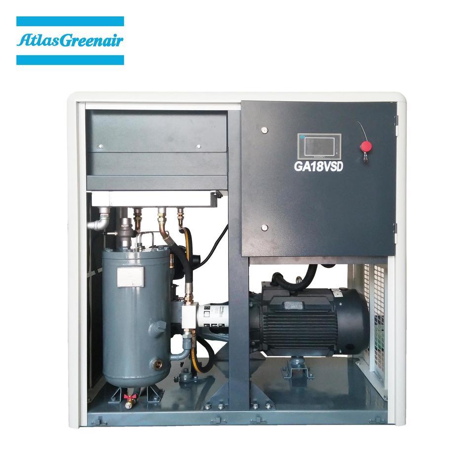 Greenair Atlas GA18VSD 18.5kW Variable Speed Oil Injected Screw Air Compressor