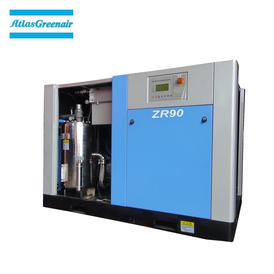 Greenair Atlas ZR90 Water Cooled Oil Free Screw Air Compressor
