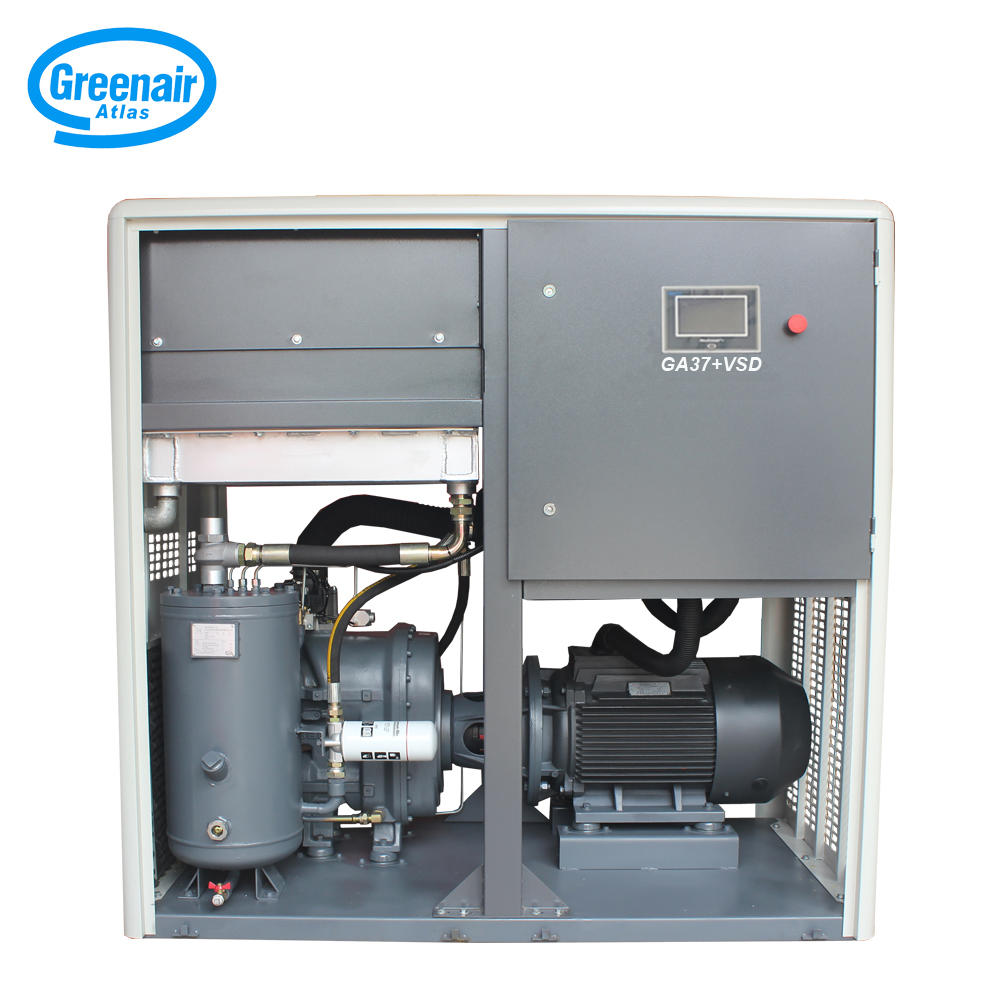 Greenair Atlas GA37+VSD 37kW Variable Speed Two Stage Screw Air Compressor