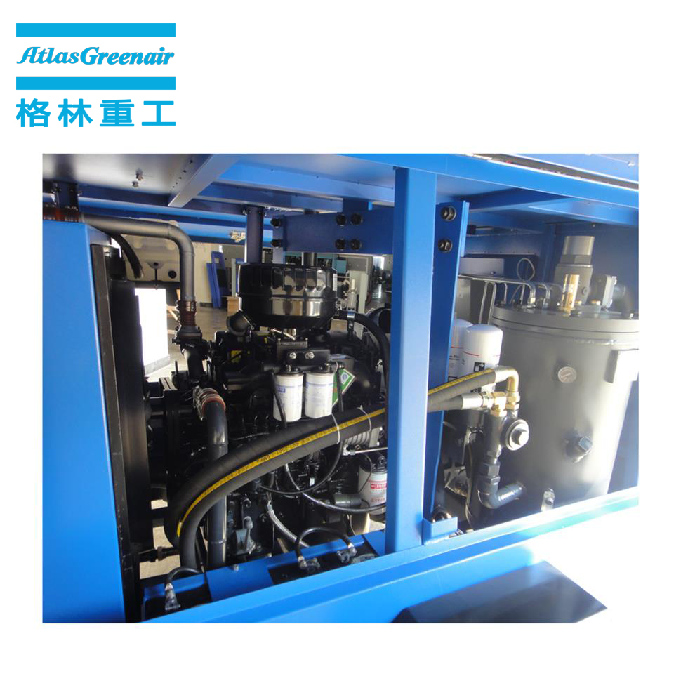 Atlas Greenair Screw Air Compressor new mobile air compressor manufacturer for sale-1