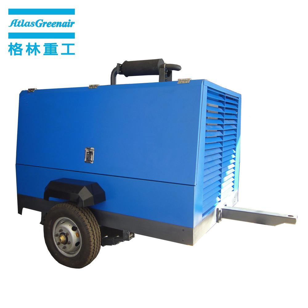Atlas Greenair Screw Air Compressor portable diesel air compressor for busniess design-2
