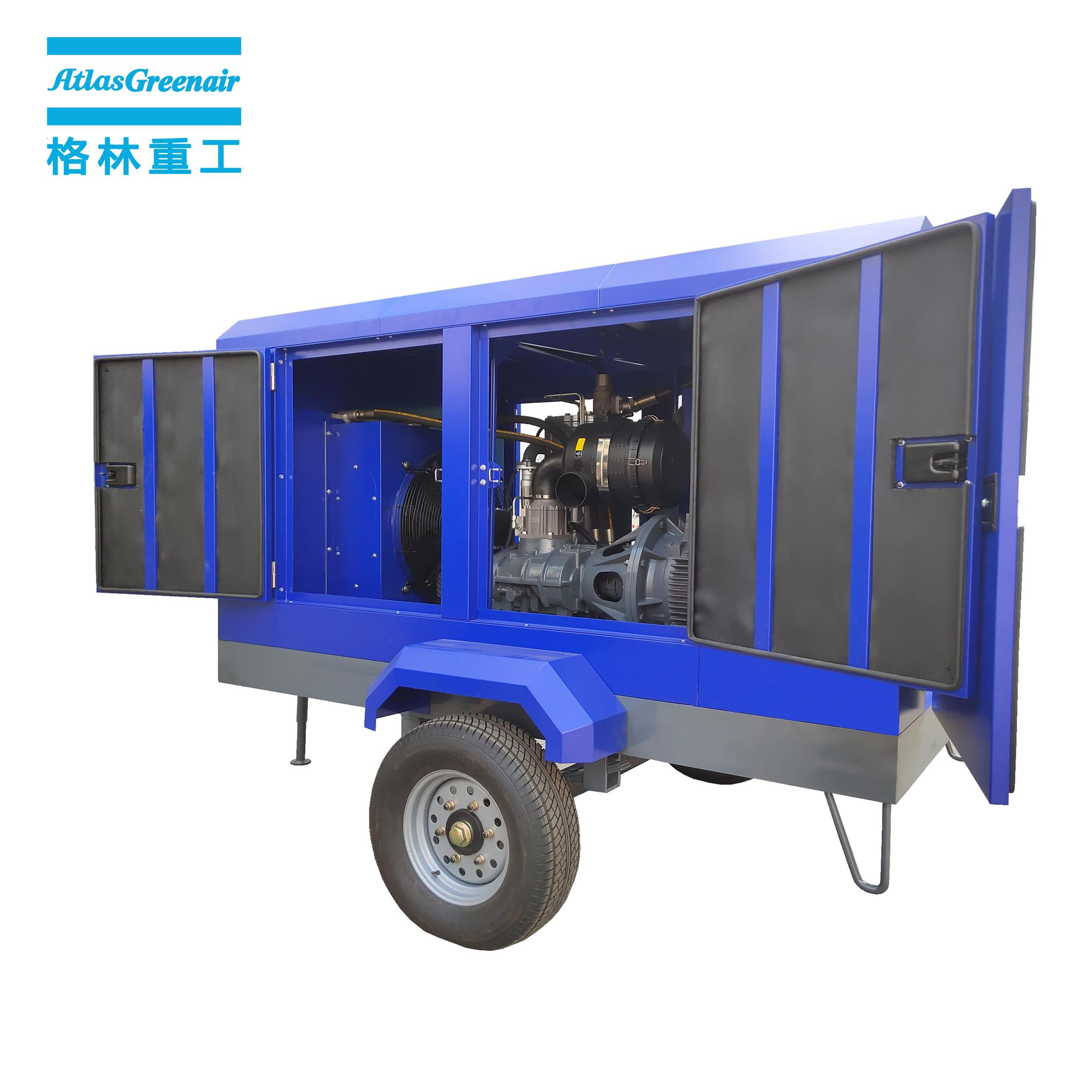 Atlas Greenair Screw Air Compressor wholesale electric rotary screw air compressor with intelligent control system for tropical area-1