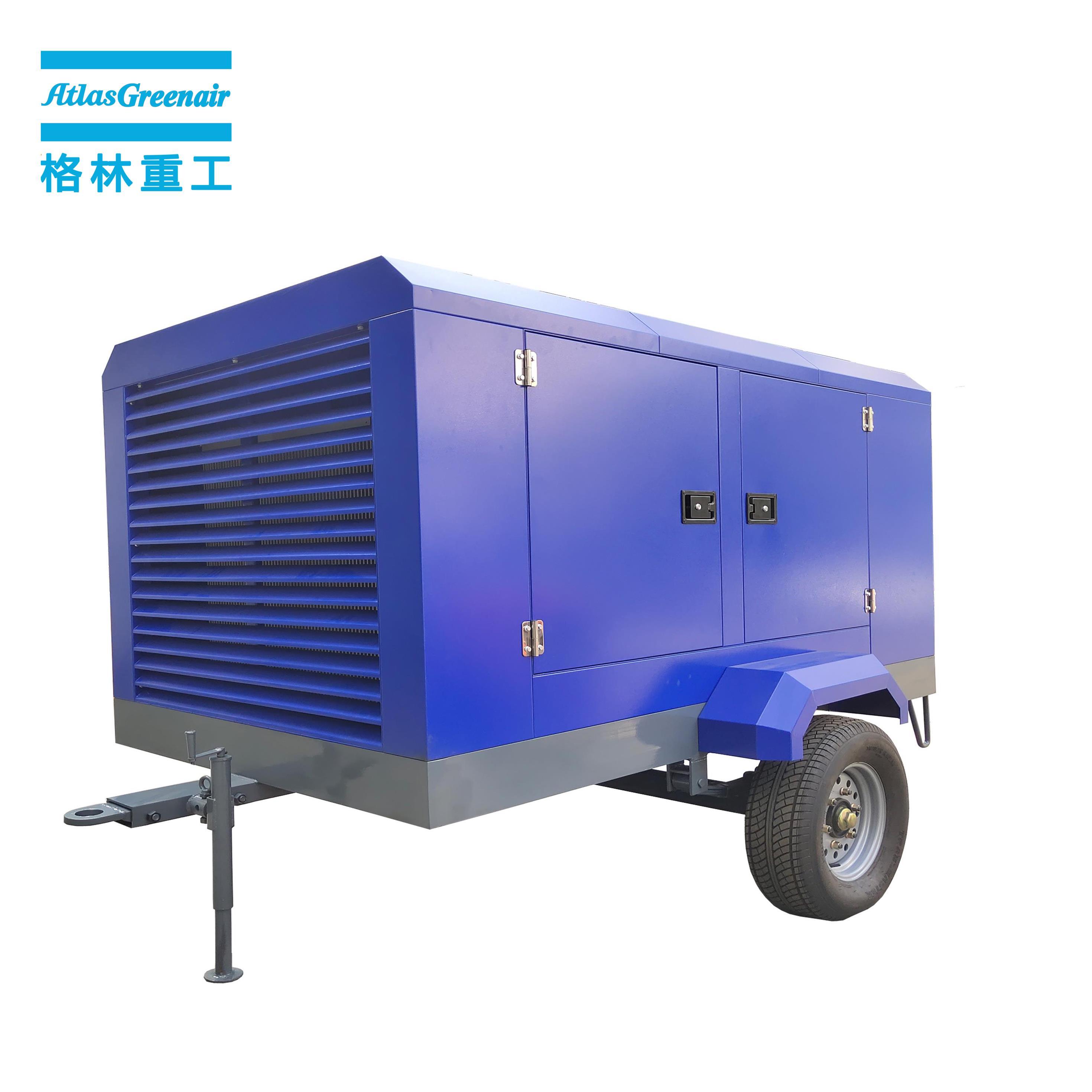 Atlas Greenair Screw Air Compressor wholesale electric rotary screw air compressor with intelligent control system for tropical area-2