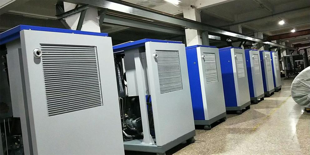 Atlas Greenair Screw Air Compressors Shipping To Taiwan