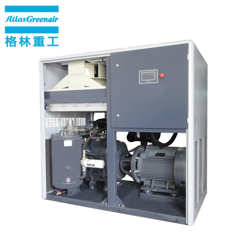 Atlas Greenair Screw Air Compressor variable speed air compressor with four pole motor customization-2