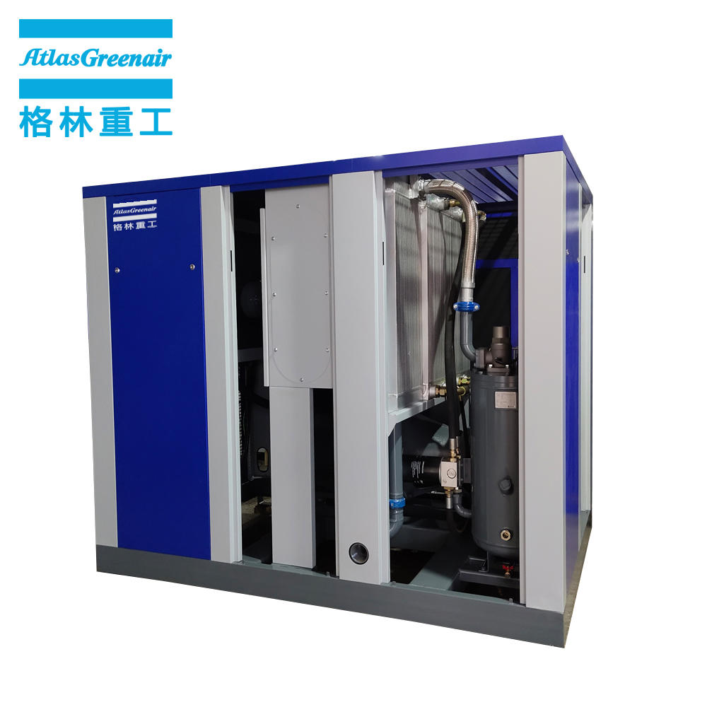 Atlas Greenair GA90 90kW 125HP High Efficiency Screw Type Direct Drive Air Compressor
