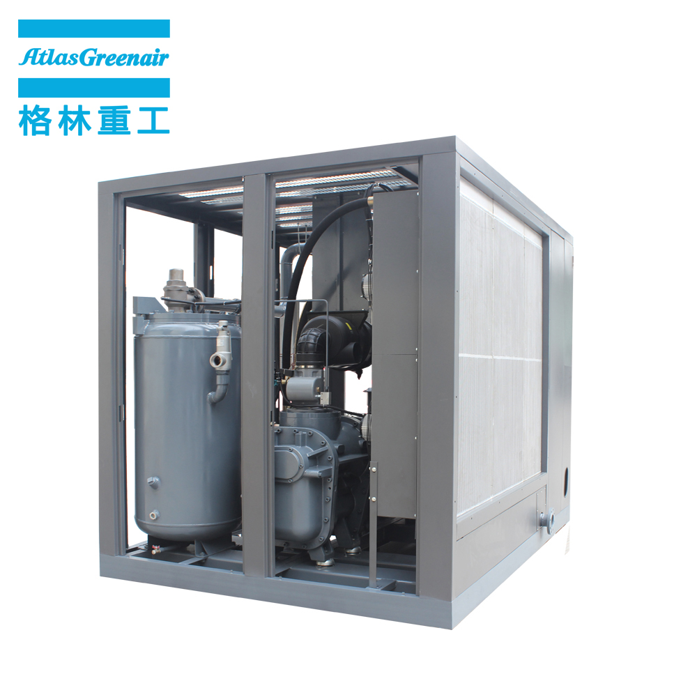 Atlas Greenair Screw Air Compressor fixed atlas copco screw compressor manufacturer for tropical area-1