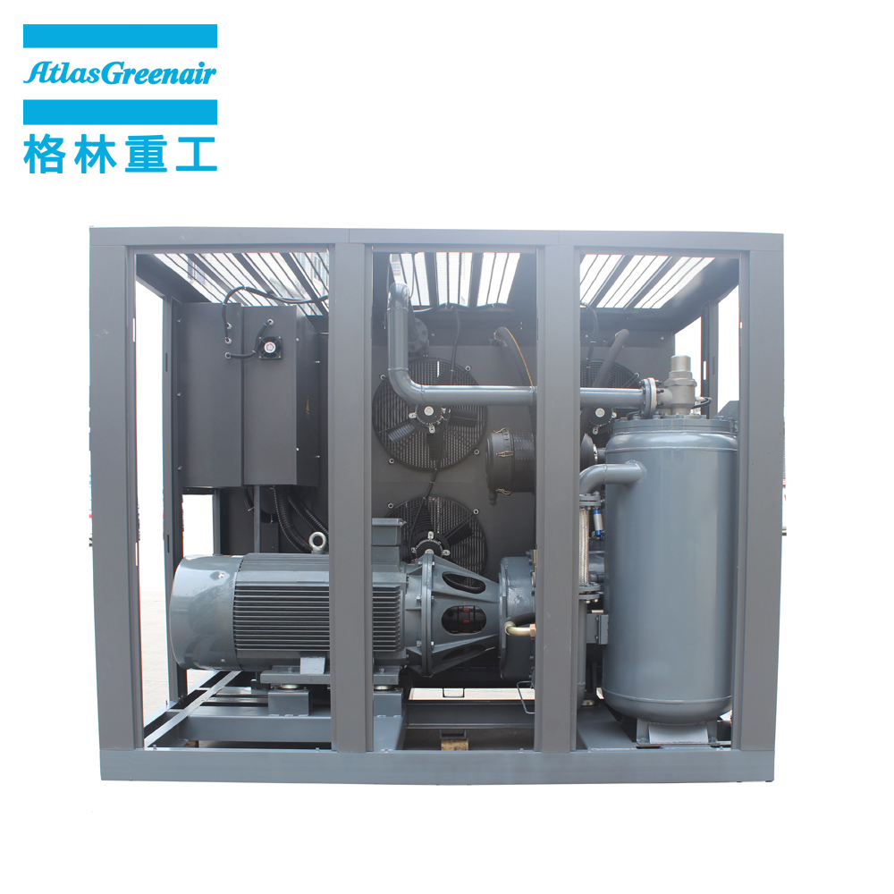 single stage fixed speed rotary screw air compressor supplier for sale-2