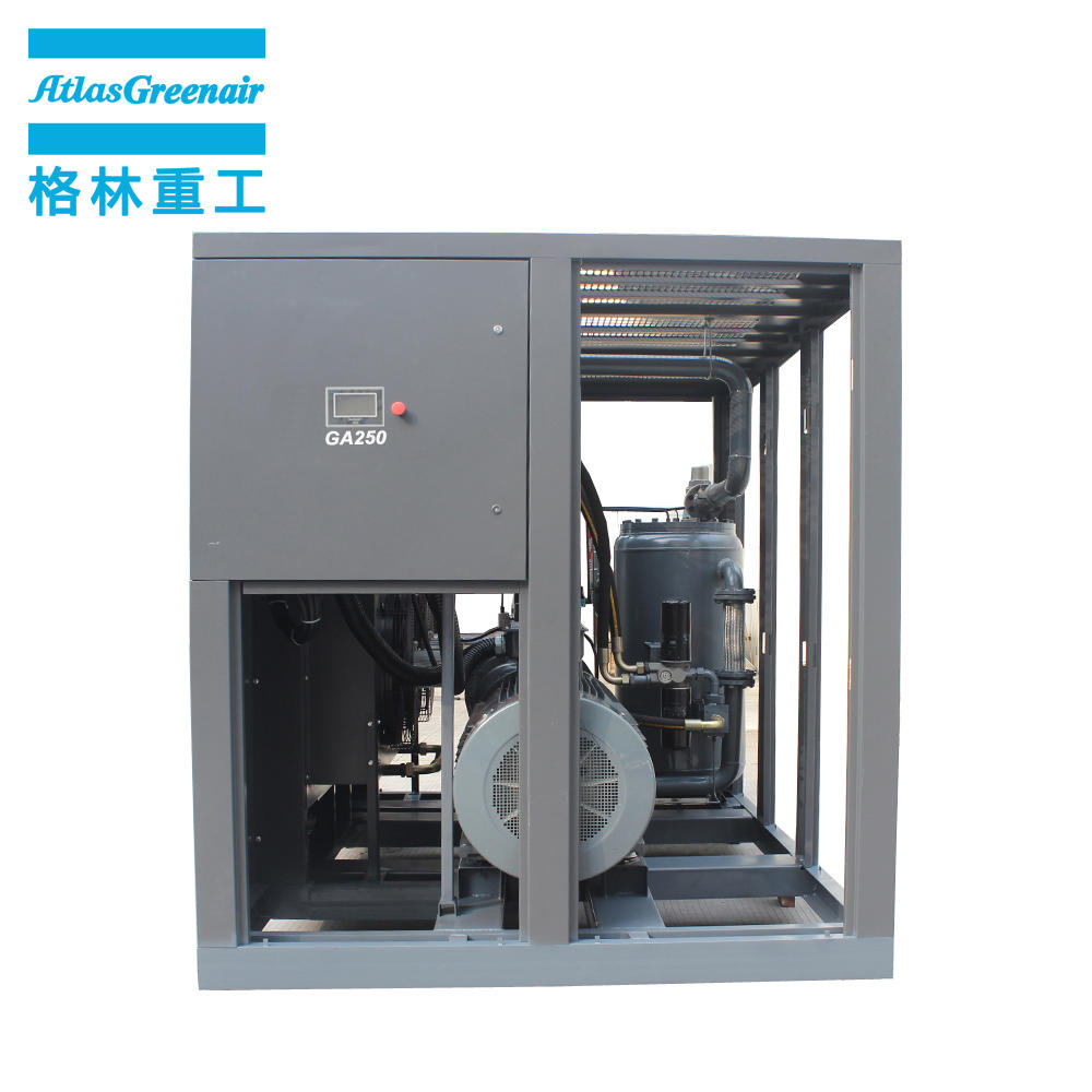 Best Quality GA250 250kW 335HP Oil Injected Rotary OEM Screw Air Compressor