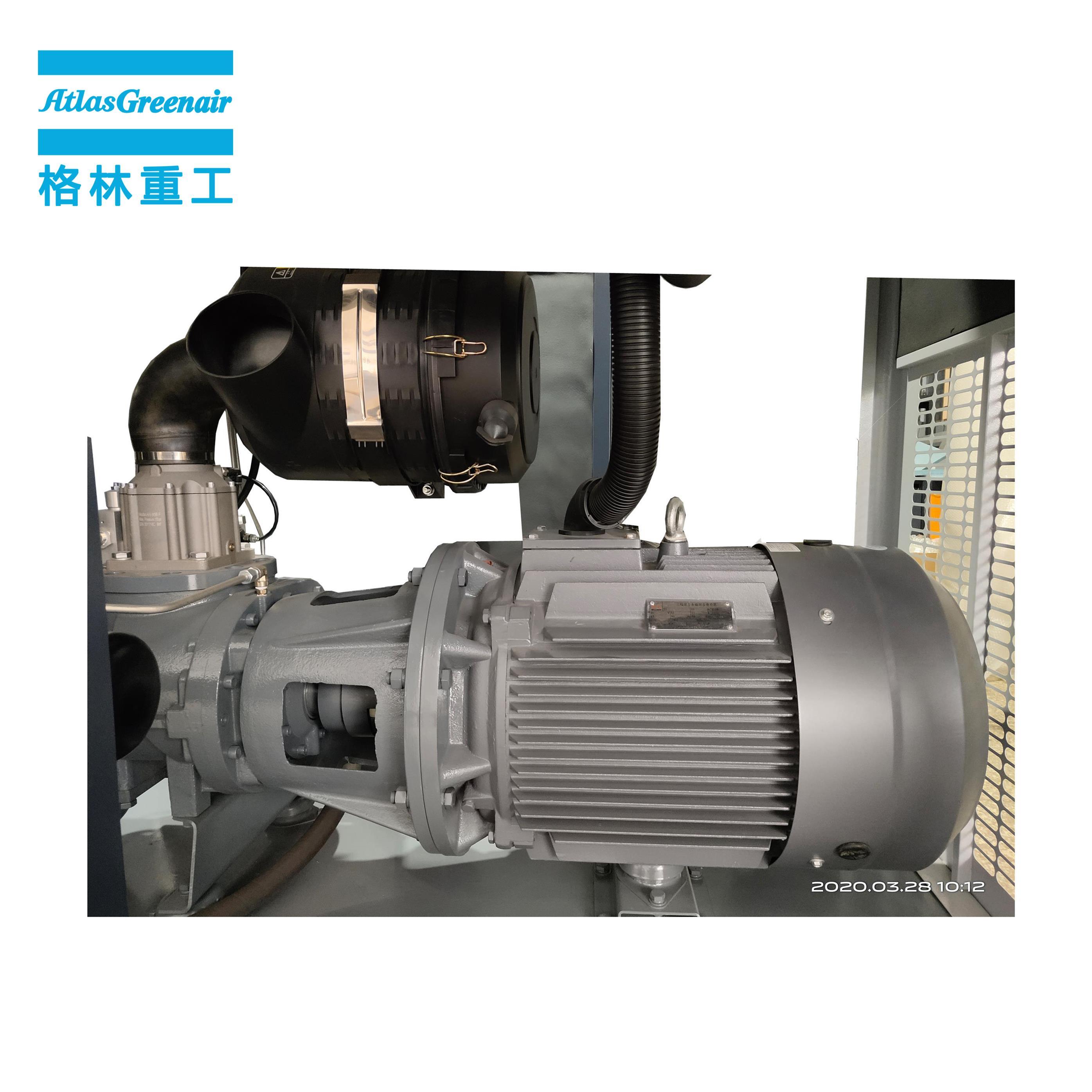 Atlas Greenair Screw Air Compressor new variable speed air compressor factory for sale-2