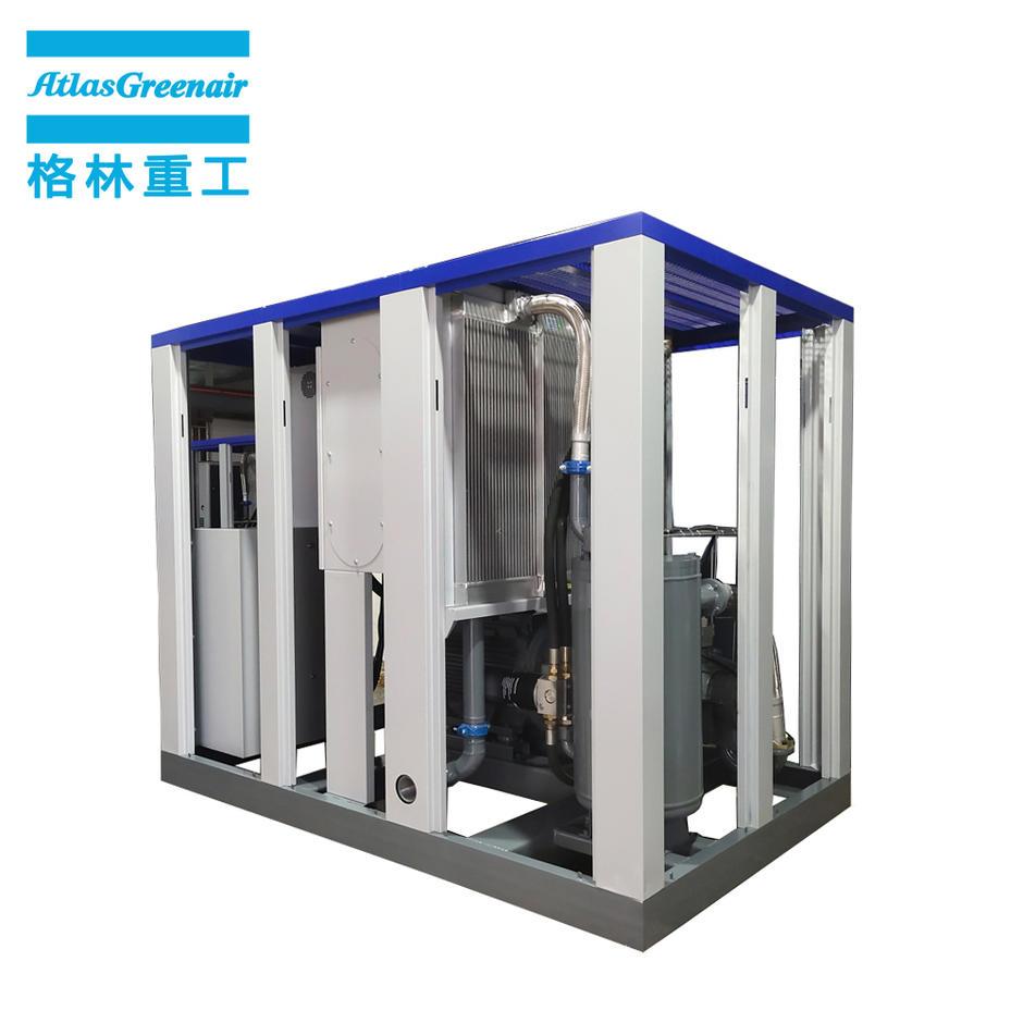 Atlas Greenair GA110VSD 110KW 150HP Variable Speed Industrial Screw Compressor