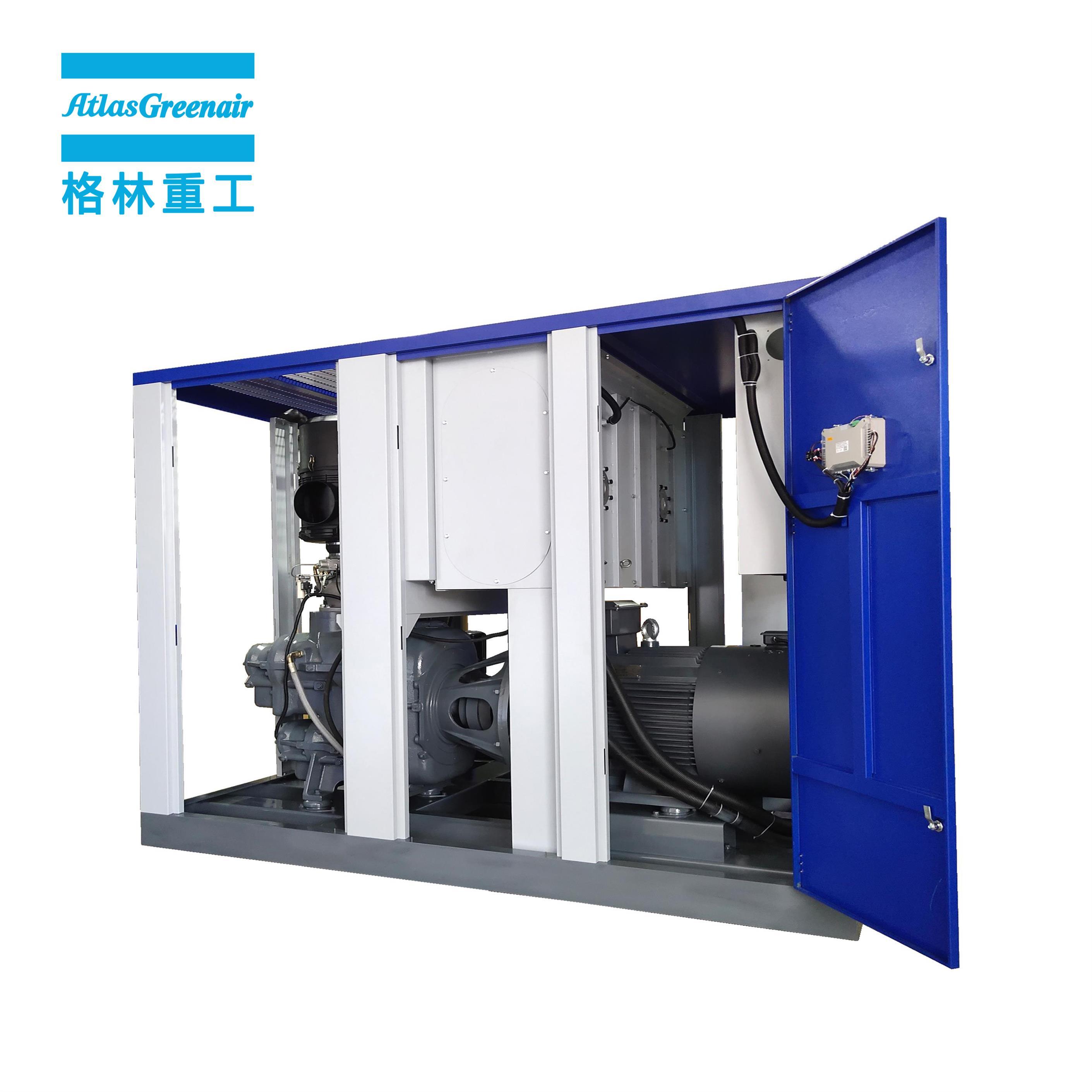 Atlas Greenair Screw Air Compressor cheap variable speed air compressor with a single air compressor for sale-1