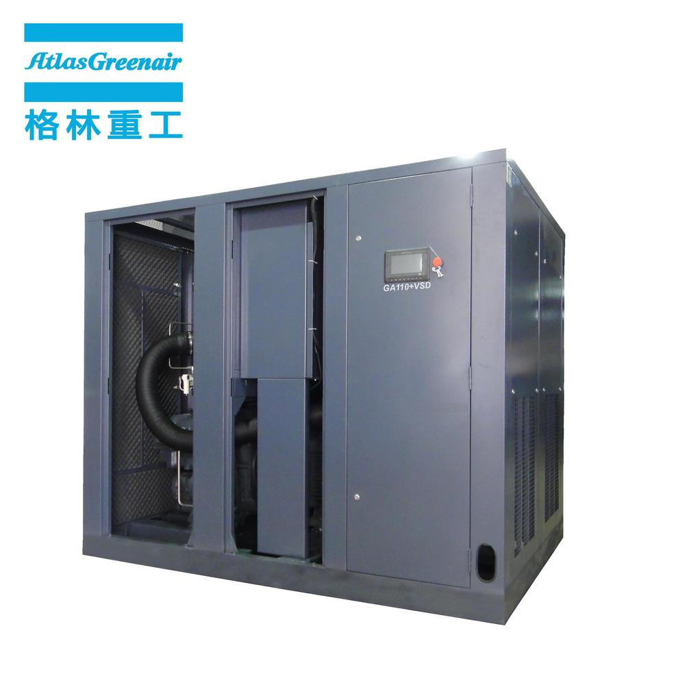 Atlas Greenair GA110+VSD Two Stage Stationary Electrical Variable Speed Air Compressor