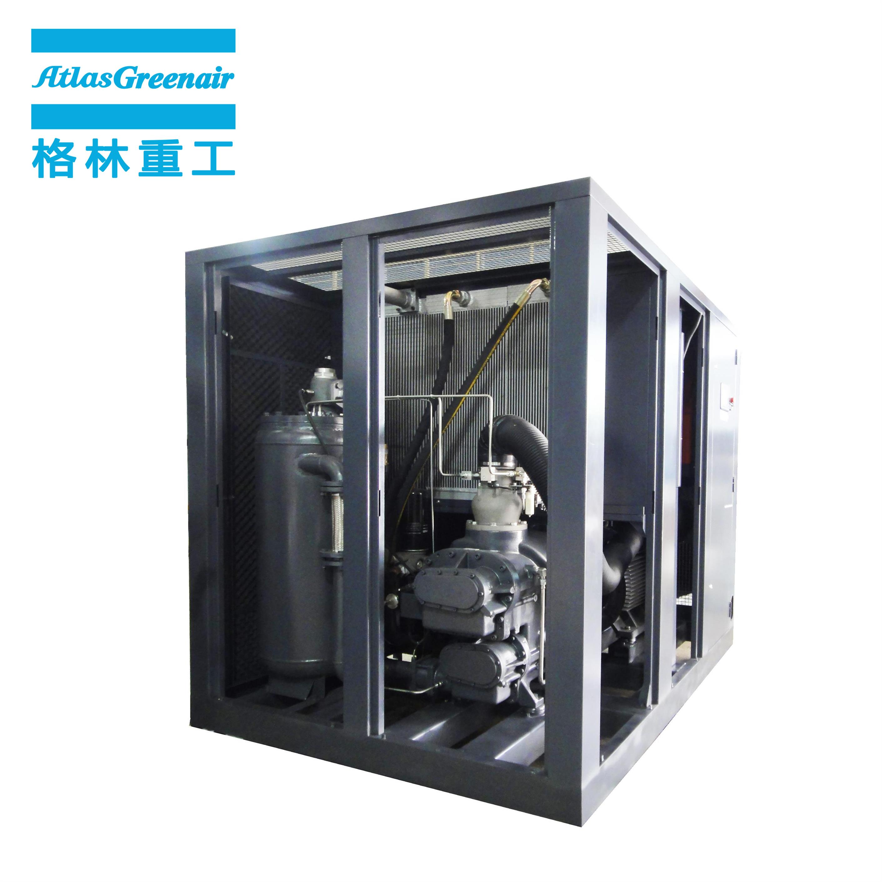 Atlas Greenair Screw Air Compressor new variable speed air compressor with an asynchronous motor for sale-1