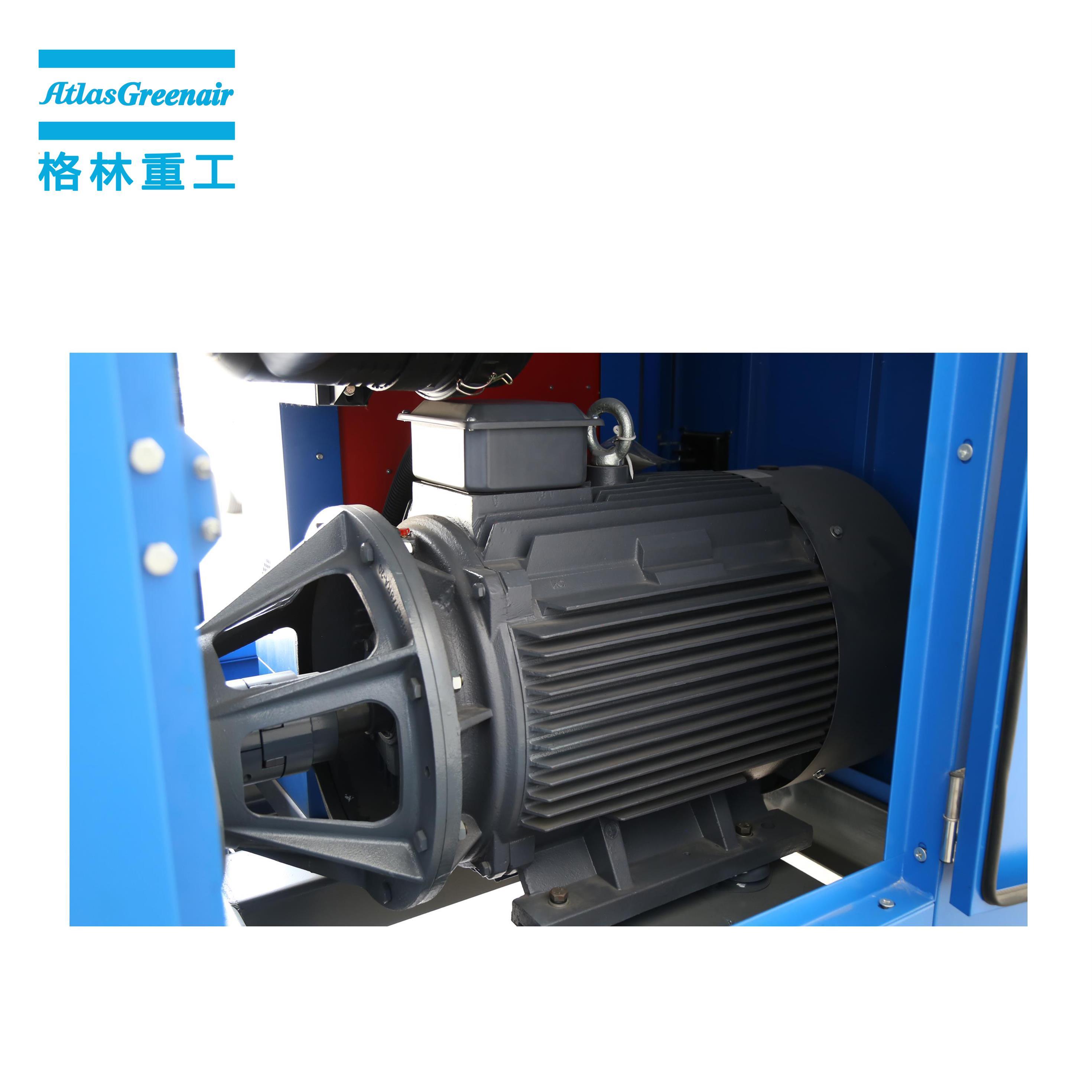 Atlas Greenair Screw Air Compressor portable screw compressor with intelligent control system wholesale-2