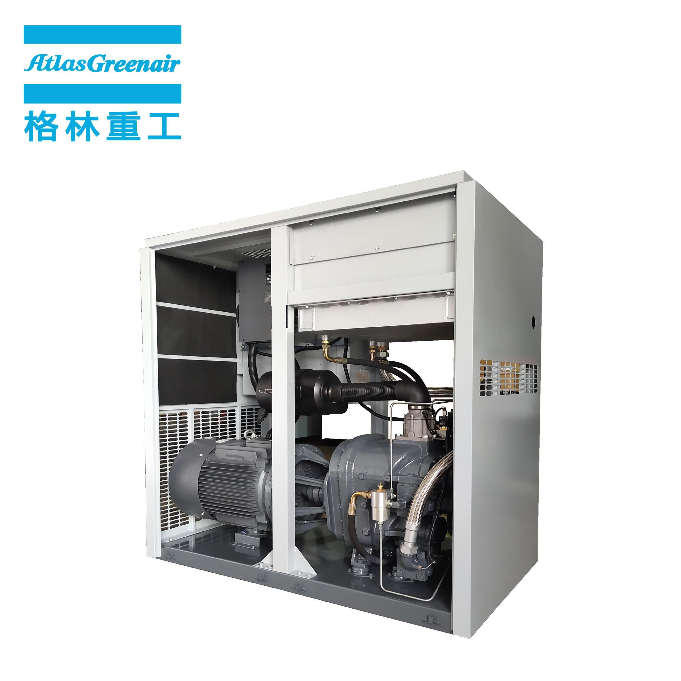 Atlas Greenair Screw Air Compressor vsd compressor atlas copco with four pole motor customization-2