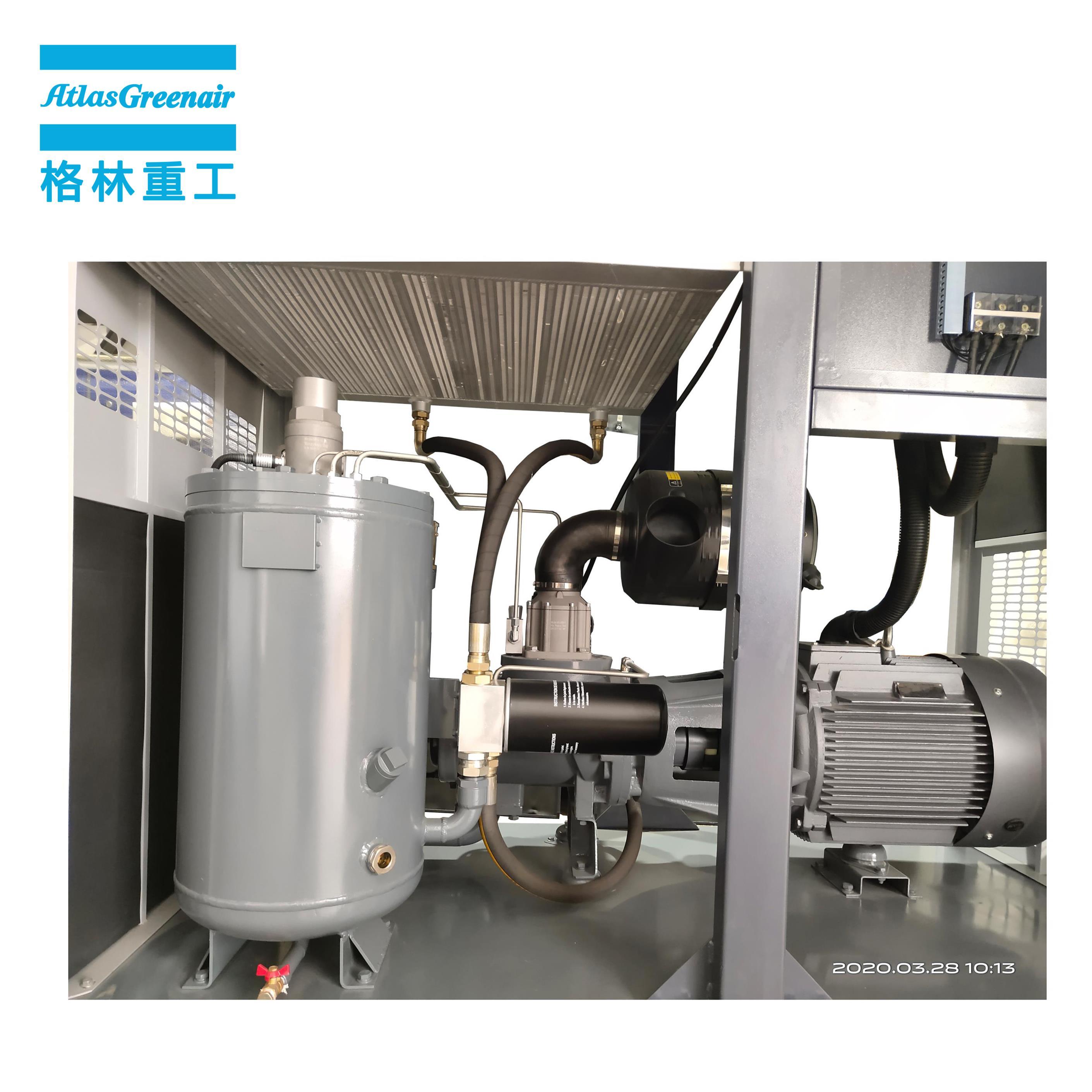 Atlas Greenair Screw Air Compressor customized variable speed air compressor manufacturer for tropical area-2