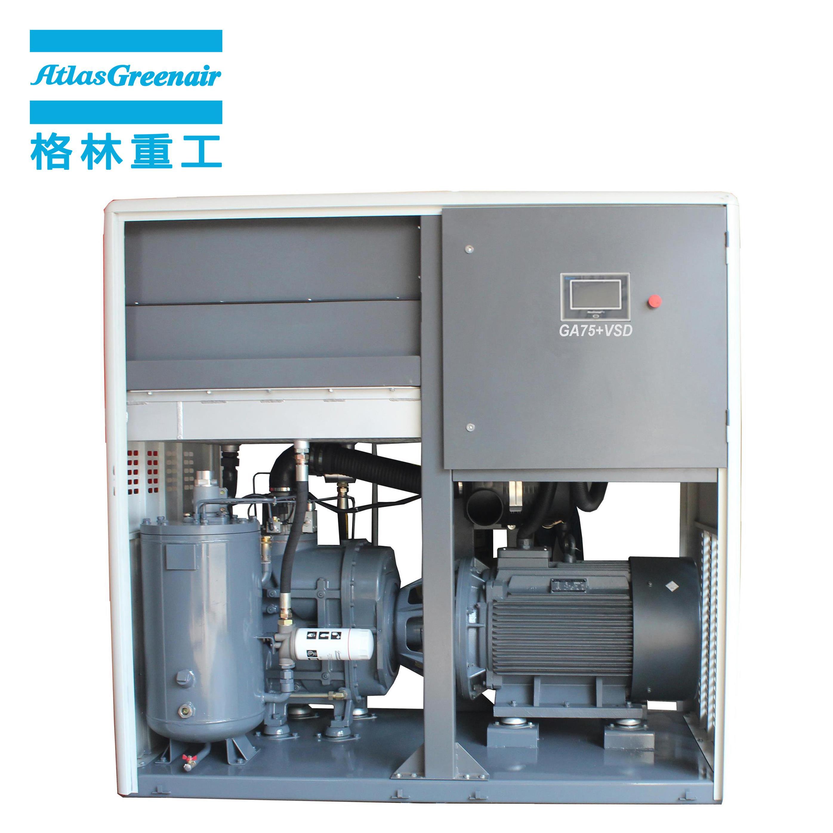 Atlas Greenair Screw Air Compressor new vsd compressor atlas copco with a single air compressor for tropical area-2