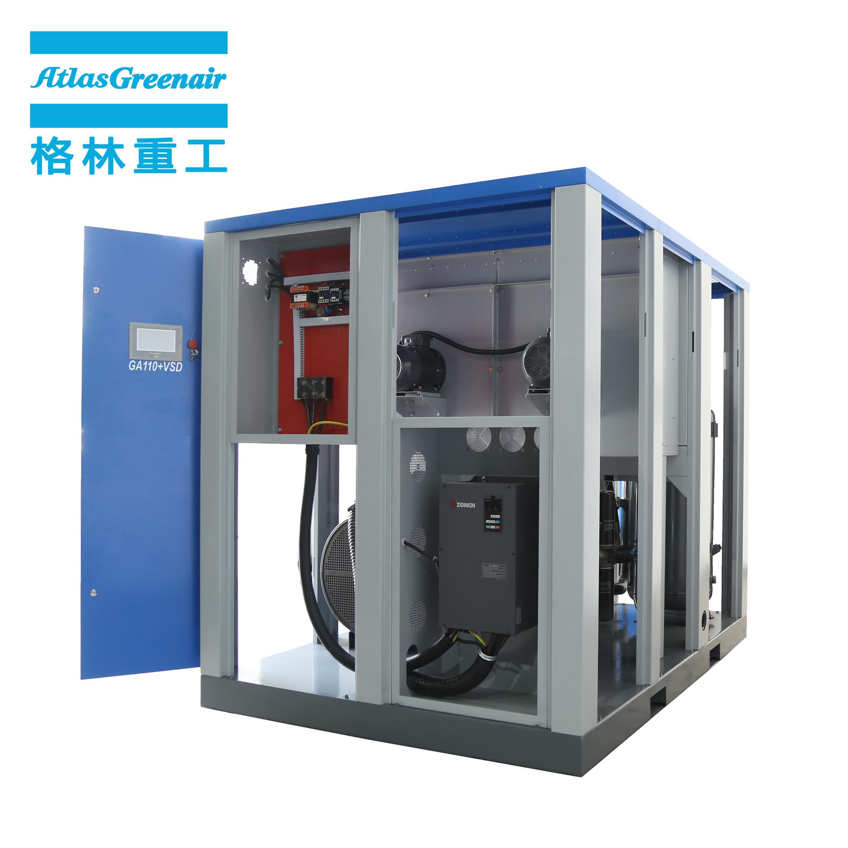 Atlas Greenair Screw Air Compressor vsd compressor atlas copco manufacturer for sale-1