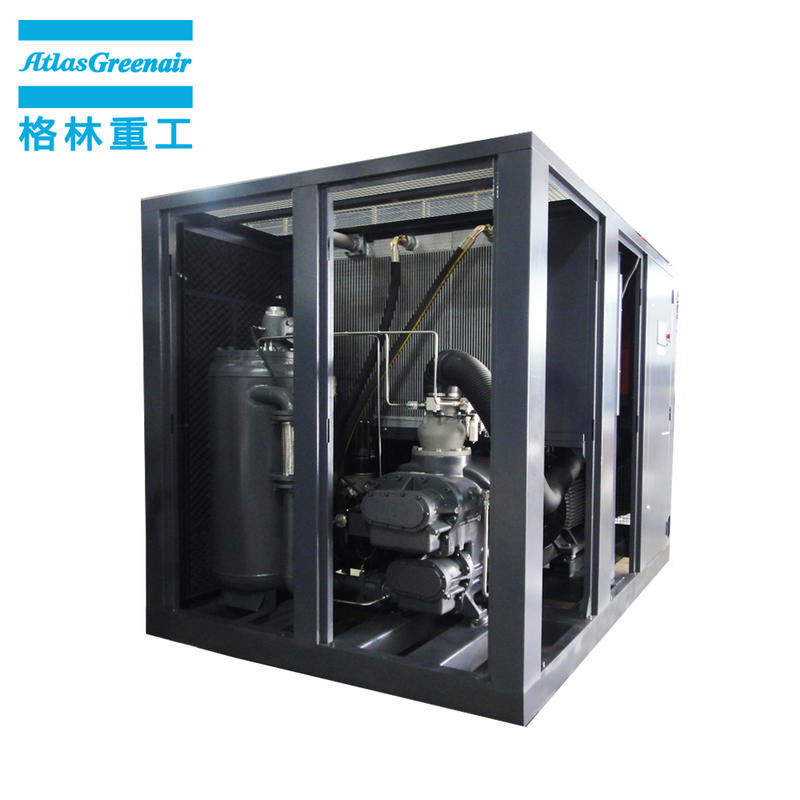 Atlas Greenair Screw Air Compressor custom vsd compressor atlas copco manufacturer for tropical area