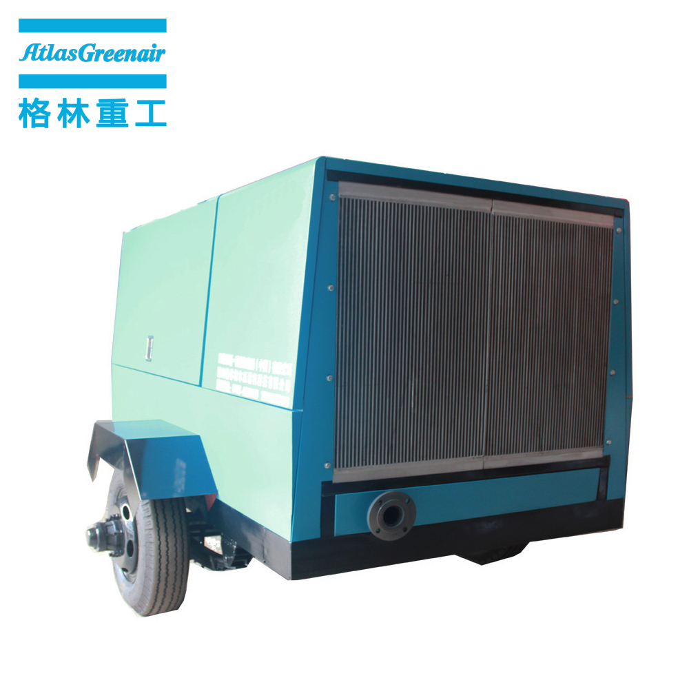 professional portable screw compressor with three stage oil-air separator wholesale-1