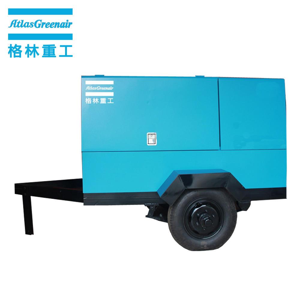 Atlas Greenair EM24/8 Electric Mobile Screw Air Compressor For Industry Use
